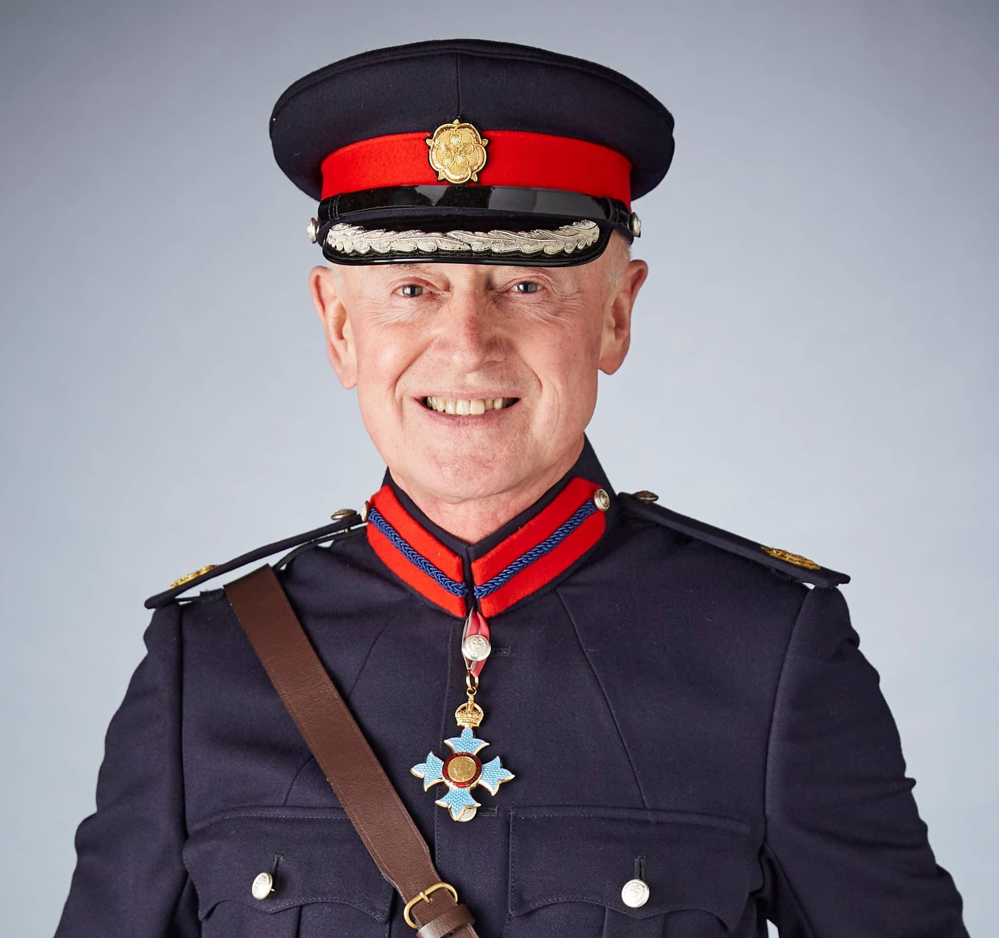 Edwin Booth High Sheriff of Lancashire